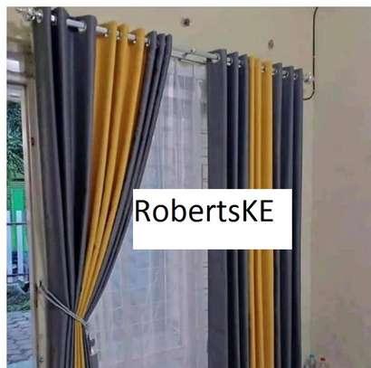 yellow curtain image 1