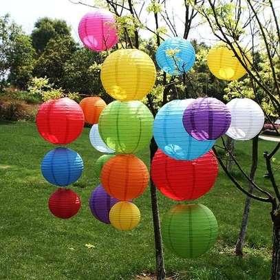 Chinese paper lanterns image 1
