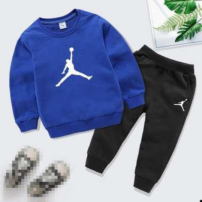 Boy's Tracksuit Set Quality Sweatpant + Sweatshirt image 1