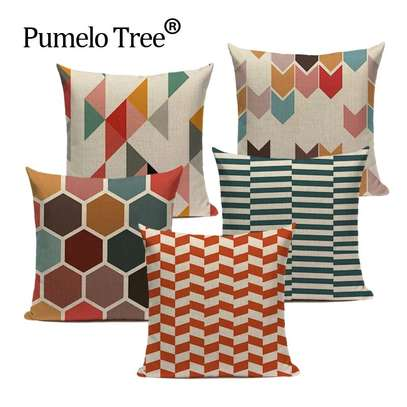 Colourful pillows image 4