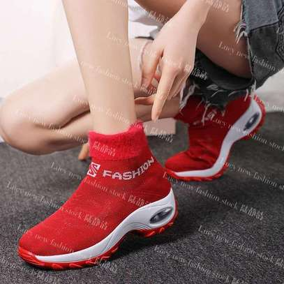 Ladies socks boot sneakers