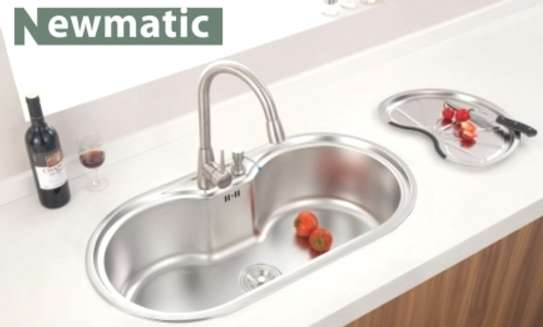 NEWMATIC Ultra Deep Bowl Kitchen Sink Spring86