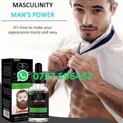 Beard and Moustache Fast Growth Oil