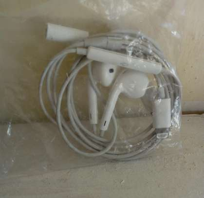 Apples/iPhones chargers and earphones image 2