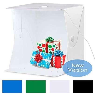 Folding Lightbox Photography Studio LED Light Soft Box Camera Photo Background Box Tent Kit image 1