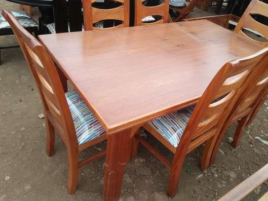 Mahogany dining table image 6