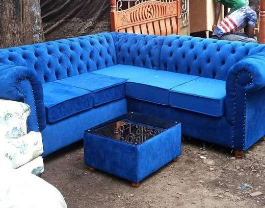 Chester sofa Lshape with a coffee table image 1