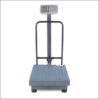 300KGS Rechargeable Scale High Accuracy Digital Platform LED Screen Weight Scale image 1