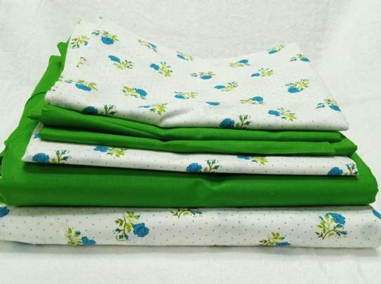 Turkish Pure cotton fitted bedsheets image 1
