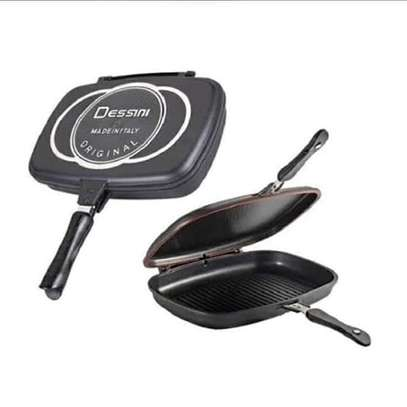 Double grill dessini pan