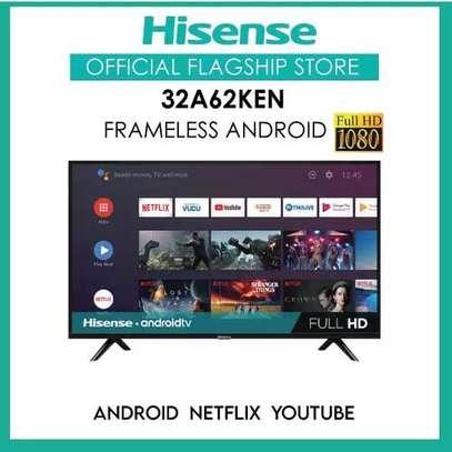 Hisense 32A62KEN Inch Smart Android Frameless TV-NEW image 1