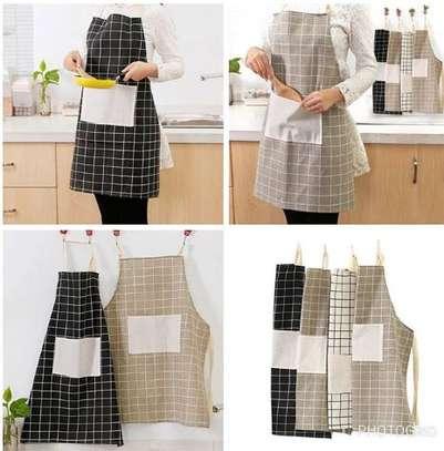 Modern unisex kitchen apron image 1