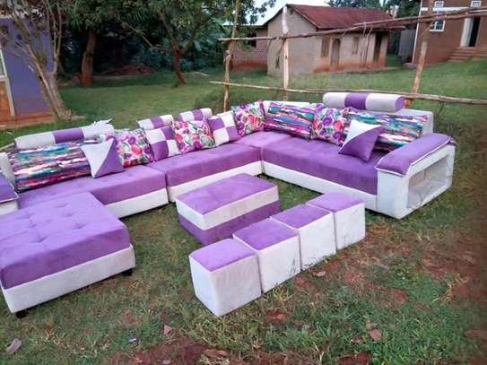 Royal Modern Quality U-shaped Sectional Sofa image 1
