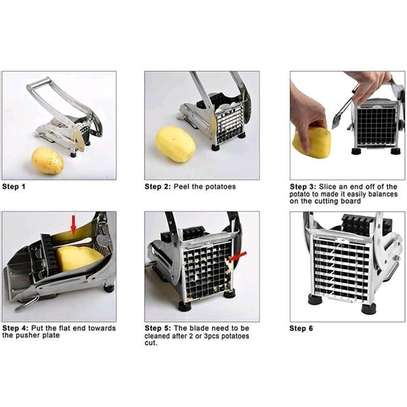 Stainless steel Potato Cutter image 4