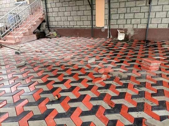 3D Coloured Paving Blocks/ Cabros image 3