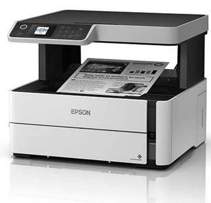 Epson M2140 Ecotank Printer 3-In-1 Mono Colour Printing image 1