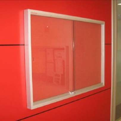 Noticeboards with  lockable Glass door image 1