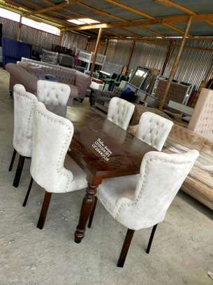 Modern dning set/Dining tables/ si lx seater dining chairs image 1