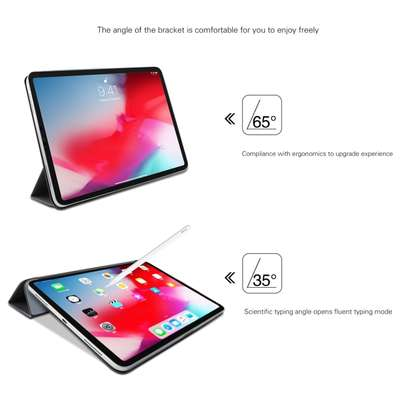 MUTURAL Auto Wake Sleep Stand Smart Leather Tablet Case for iPad 10.2 With Pencil Holder image 9