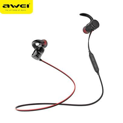 Awei AK7 Water-proof Magnetic Adsorption Wireless Bluetooth Earphones image 2