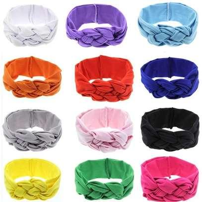 Baby Girl Stretchy Infinity Headwear Hat Headband image 2