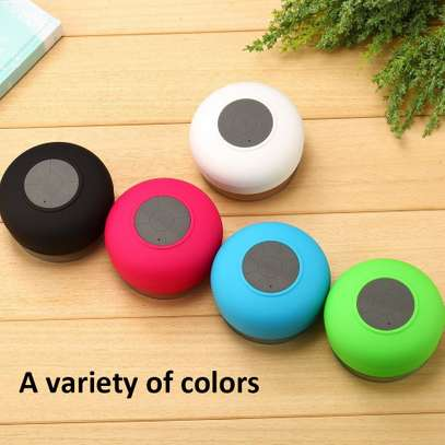Shower Speaker Bluetooth Waterproof  Water Resistant Handsfree Portable Wireless Shower Speaker,Build-in Microphone, Solid Suction Cup, 4 hrs Play Time,