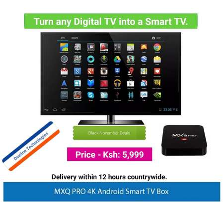 Digital to Smart Television Android  Boxes.
