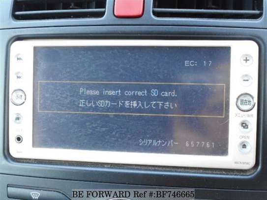 Please Insert Correct SD Card Solution for Ex Japan Car Radio image 1