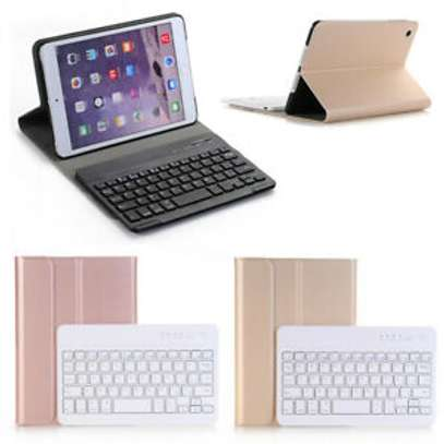 Detachable Smart Wireless bluetooth Keyboard Kickstand Tablet Case For iPad Air 3 10.5 inches image 7