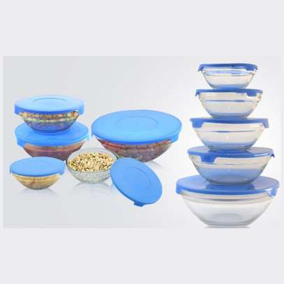 5 Pcs Glass Bowls For Multipurpose Uses image 1