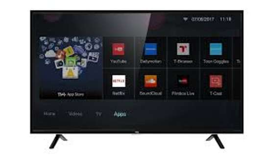 """55"""" tcl 4k uhd smart Android  tv image 1"""