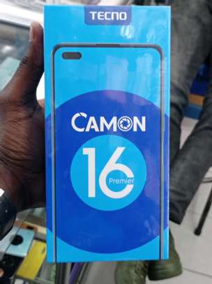 Tecno Camon 16 Premier 128GB/8GB RAM brand new and sealed in a shop image 1