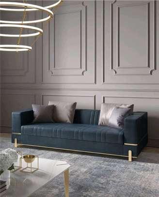 Three seater grey sofa/Trending sofa designs/sofas for sale in Nairobi Kenya image 1