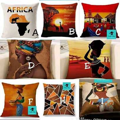 QUALITY AFRICAN THEME THROW PILLOWS image 1