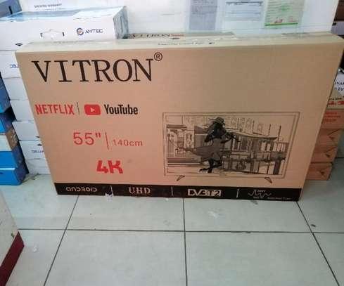 Vitron 55 Inch Smart Android 4K UHD TV image 1