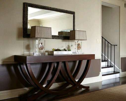 Mahogany wood console tables for sale in Nairobi Kenya/modern consoles image 1