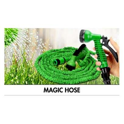 30M /100FT Incredible  Expanding  Garden Magic  Hose Pipe – Green image 2
