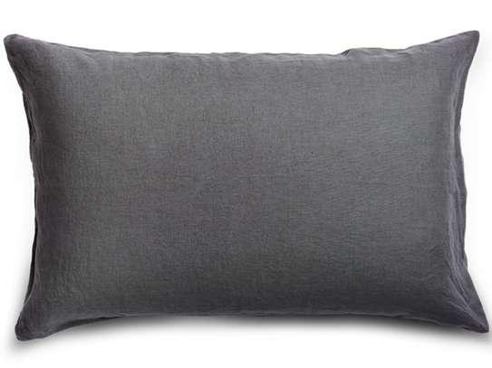 elegant fluffy throw pillow image 3