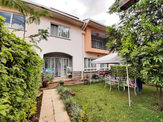 4 bedroom townhouse for rent in Langata Area image 14