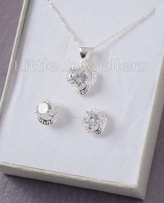 Sterling silver necklace sets perfect for mother's day!! image 4