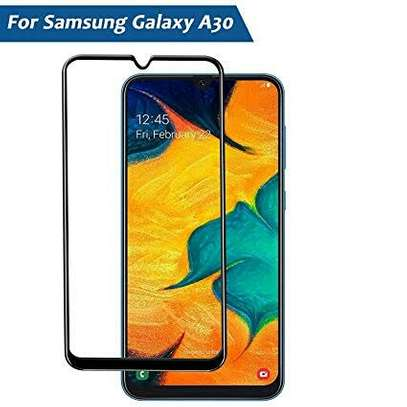 5D HD Clear Tempered Glass Front Screen Protector for Samsung A10 A20 A30 A40 image 2