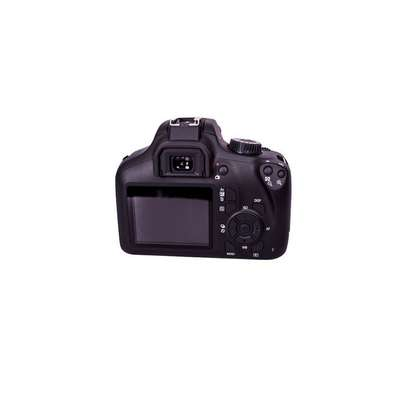 Canon EOS 4000D DSLR Camera and EF-S 18-55 mm f/3.5-5.6 III Lens - Black image 2