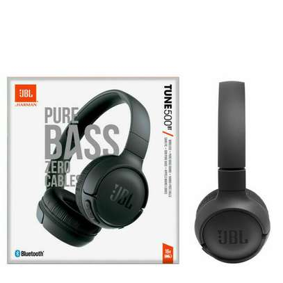 JBL Tune 500BT Bluetooth Wireless On-Ear Headphone with Mic JBL Pure Bass Sound Noise Canceling Foldable Headset Sport Earphones image 5