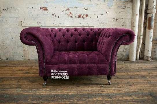 Victorian sofas/one seater sofa/sofas/single seater sofa image 1