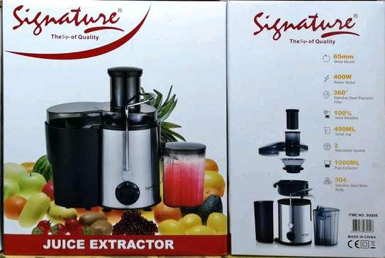 Electric juice extractor image 1