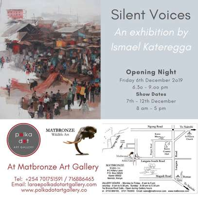 An Exhibition by Ismael Kateregga