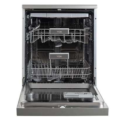 VON VALZ-14FGS Dishwasher Machine 14PS P.Memory - Silver image 2