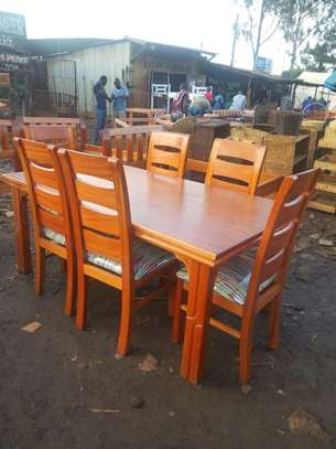 A 6 seater dining table