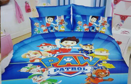 Cartoon theme kids duvet image 1