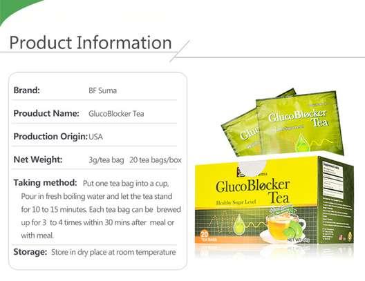 Glucoblocker Tea; 20 tea bag blood sugar product BFsuma image 2
